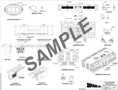 space probe blueprints
